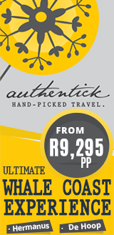 Authentick Travel - Ultimate Whale Coast Holiday